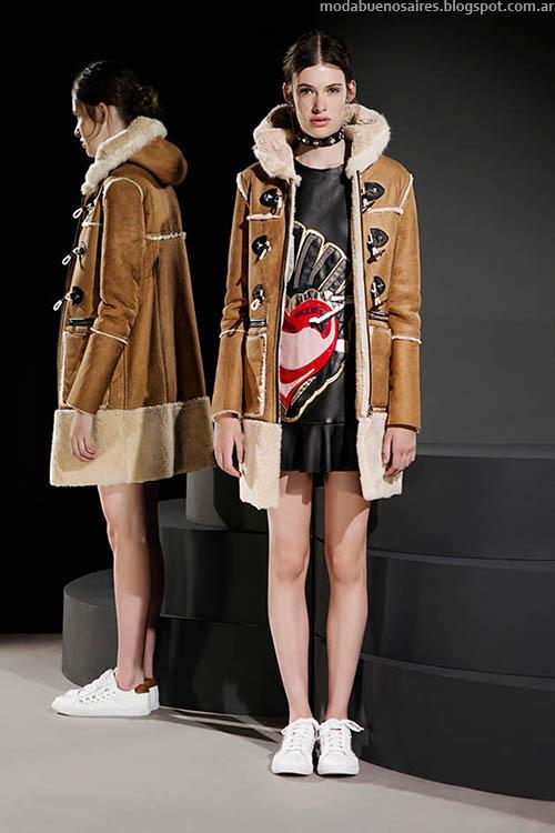 Tapados, sacos y todo tipo de abrigos en el otoño invierno 2015 de Jazmín Chebar. Moda otoño invierno 2015 en Argentina.