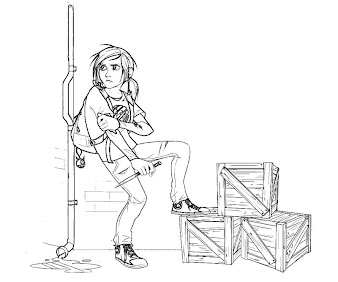 #3 The Last of Us Coloring Page