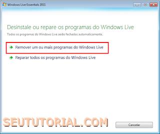 como instalar msn 2009 sem atualizar