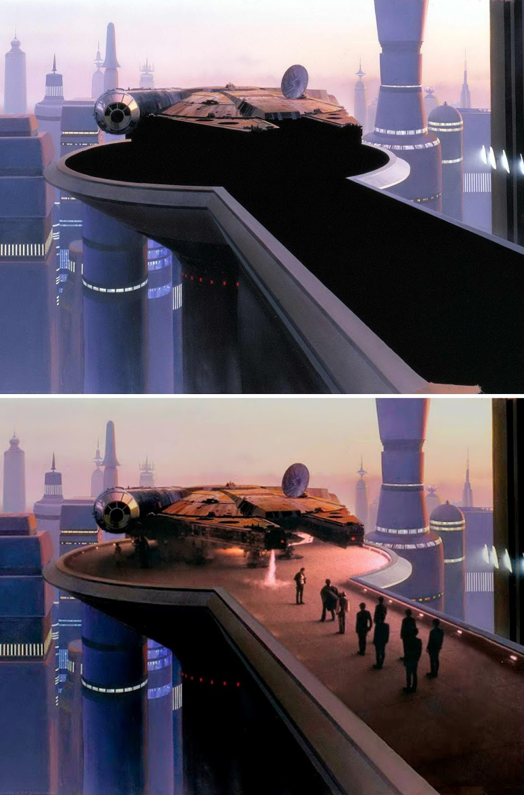 Strange Tales Matte Paintings From The Quot Star Wars
