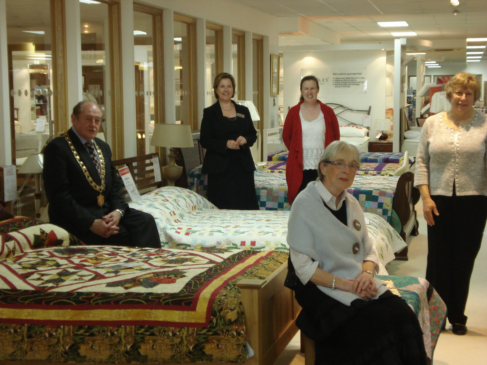South midlands branch irish patchwork society for Meubles kilkenny