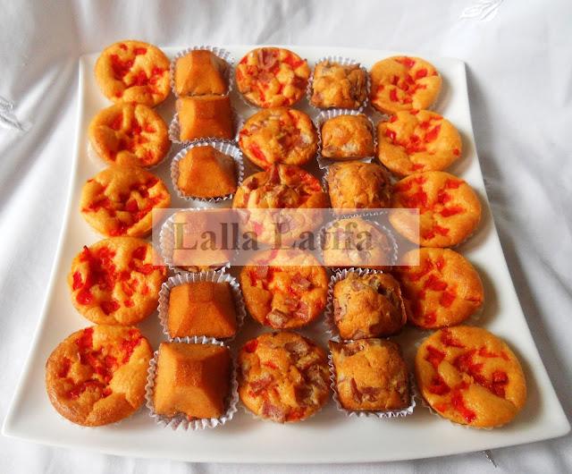Mini Cake Sal Ef Bf Bd Poivron