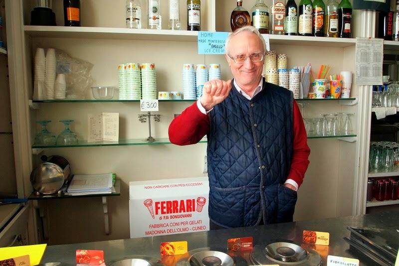 Gelato and espresso shop owner - Monterosso al Mare