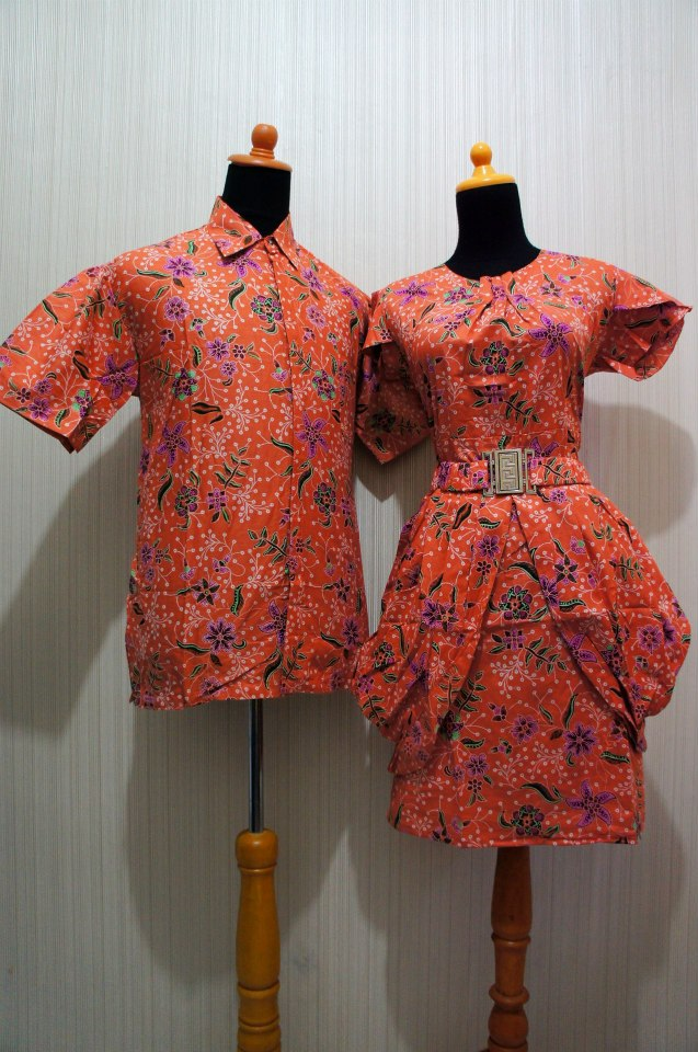 Baju Grosir Jogja Sarimbit Dress Luna Sdl Orange Sold