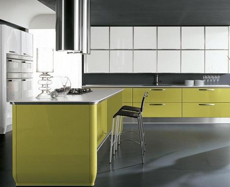 green-and-white-kitchen-design