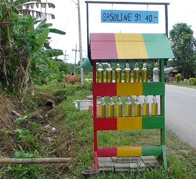 Poste d'essence à Koh Lanta