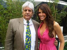 Daniela Kosan y Juan Miguel Avalos en la Preventa de Cadena Capriles