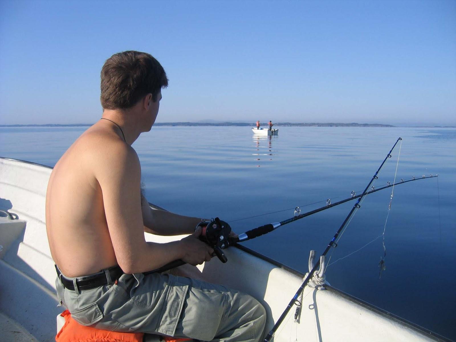 багор для рыбалки в норвегии