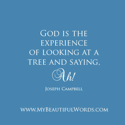 my experience with god Faith based on experience is not faith faith based on god's revealed truth is the  only faith there is.