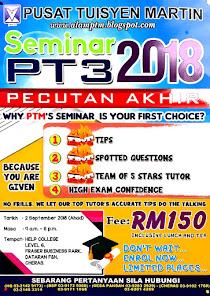 Seminar PT3 2018