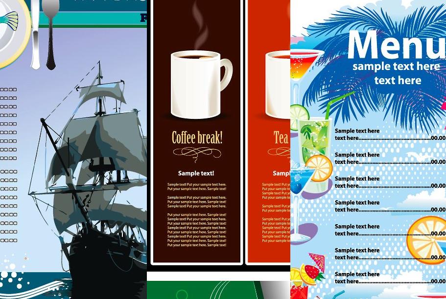 TECNOLOGIA | DISEÑO|: 25 plantillas gratuitas de diseño de menú de ...