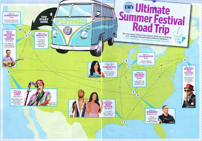 Entertainment Weekly, Summer Festivals 2011