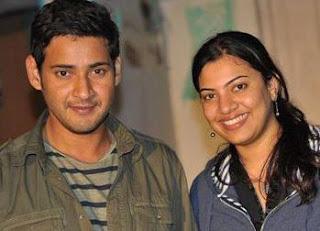 Mahesh Babu with Thama...