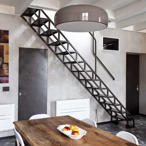 tangga rumah minimalis unik