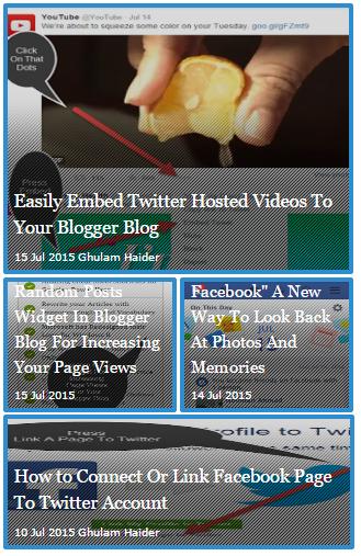 Add Fully Automated Slider Widget For Blogger Blog Sidebar