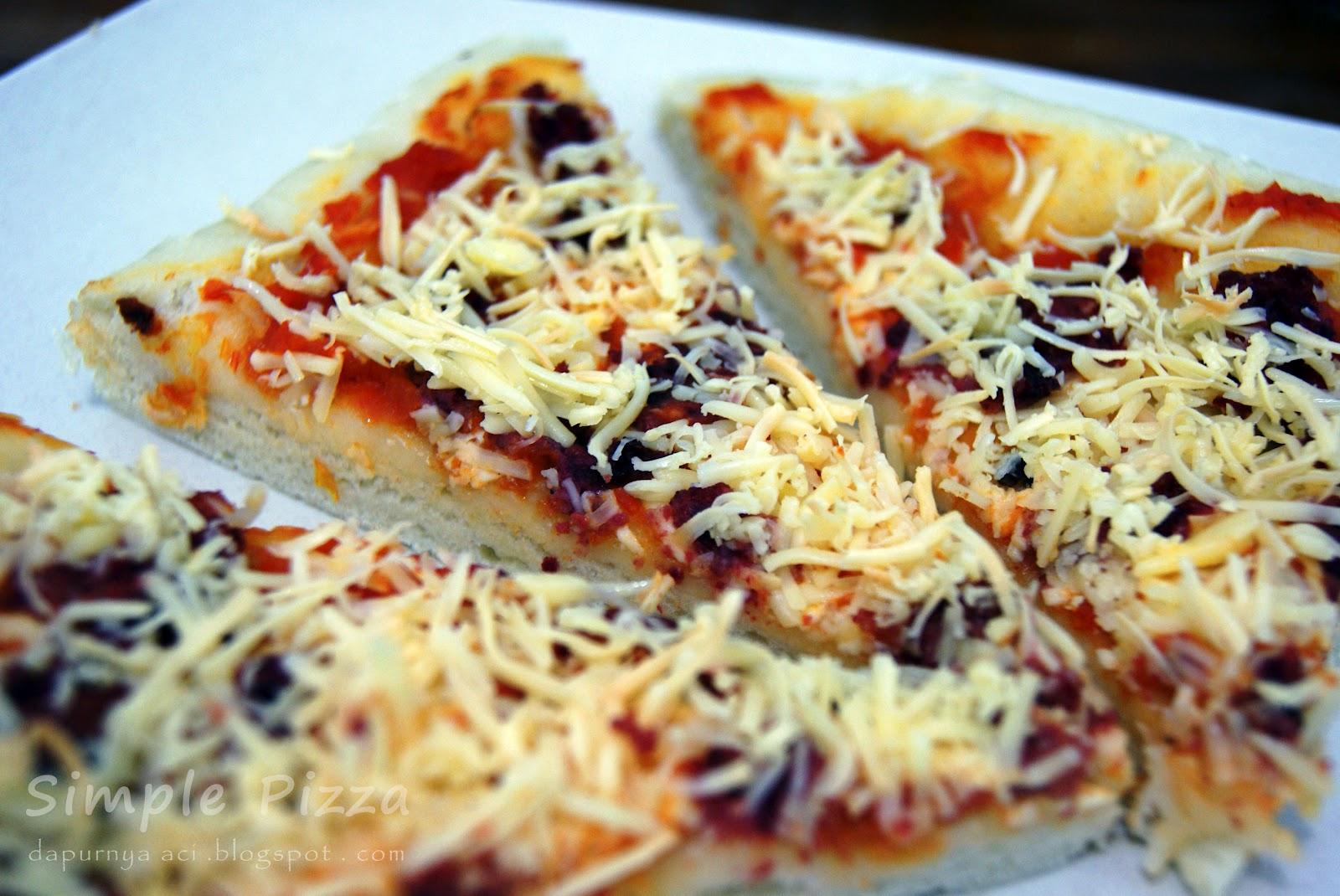 Resep Membuat Pizza Keju Sendiri