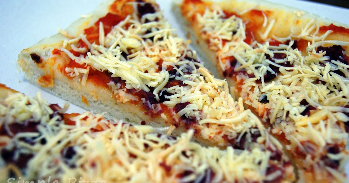 resep membuat pizza keju sendiri resep tips dan cara