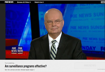 Gen. Michael Hayden, exponent of total surveillance