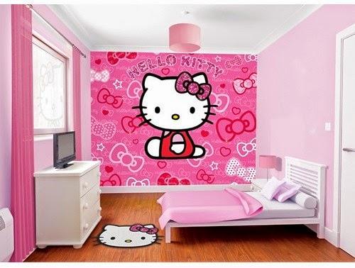 desain kamar tidur keren hello kitty berita banyuwangi