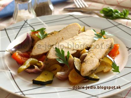 Kuracie prsia s tymianom v alobale - recepty