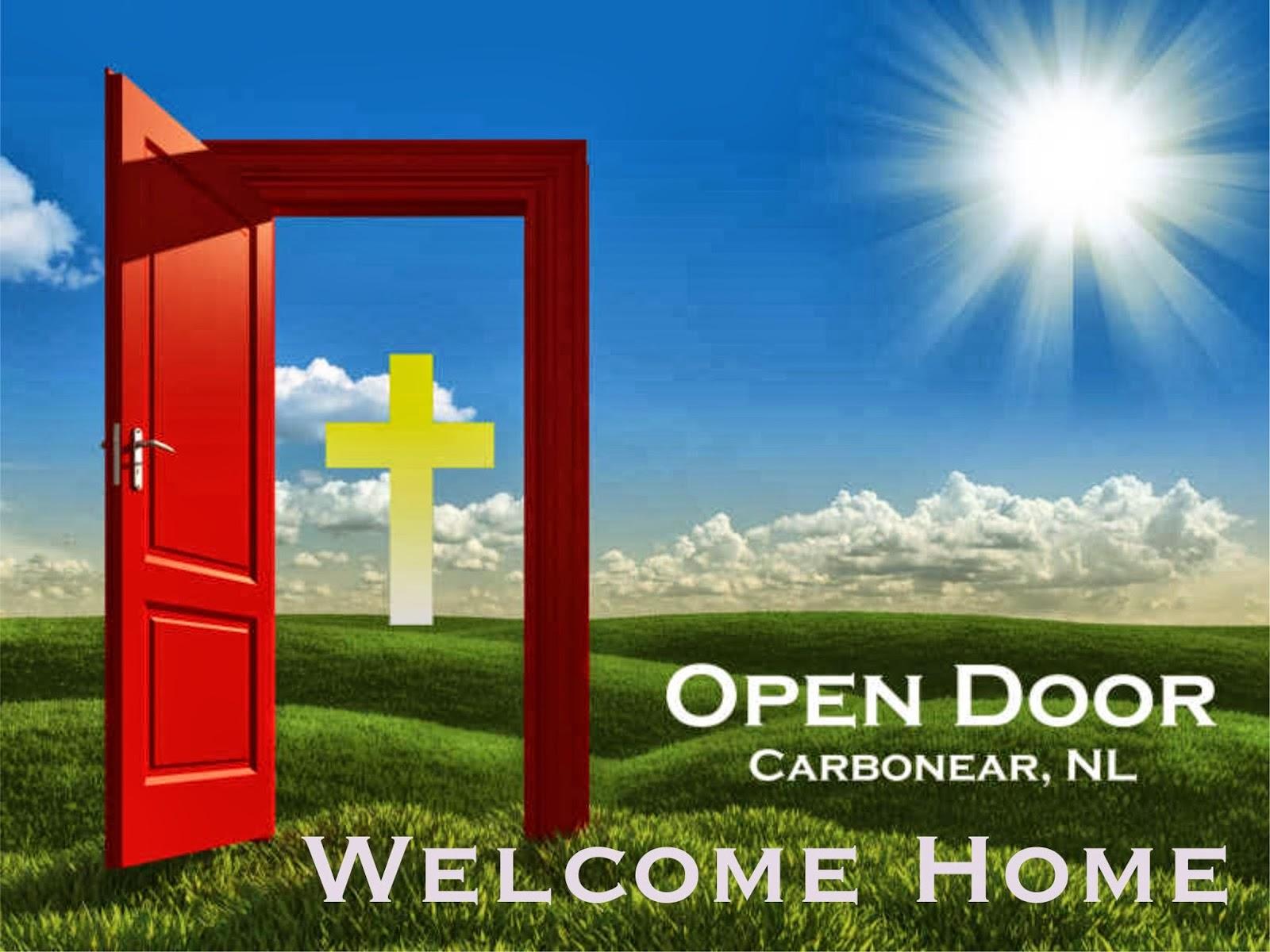 Open Door Welcome : The path of carpenter september