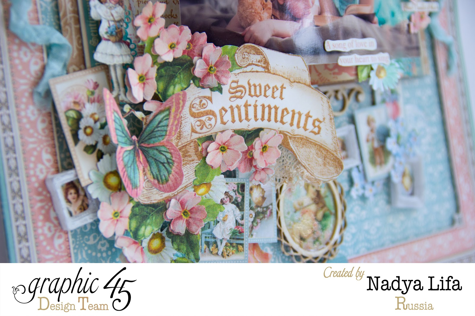 Graphic 45 Sweet Sentiment LauOut