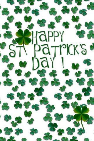 Happy St Patricks Day IPhone Wallpaper
