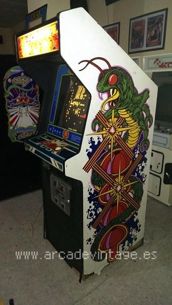Centipede, Atari, www.arcadevintage.es, arcade vintage