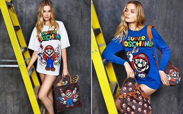 Moda funny fez homenagem aos game clássico Super Mario