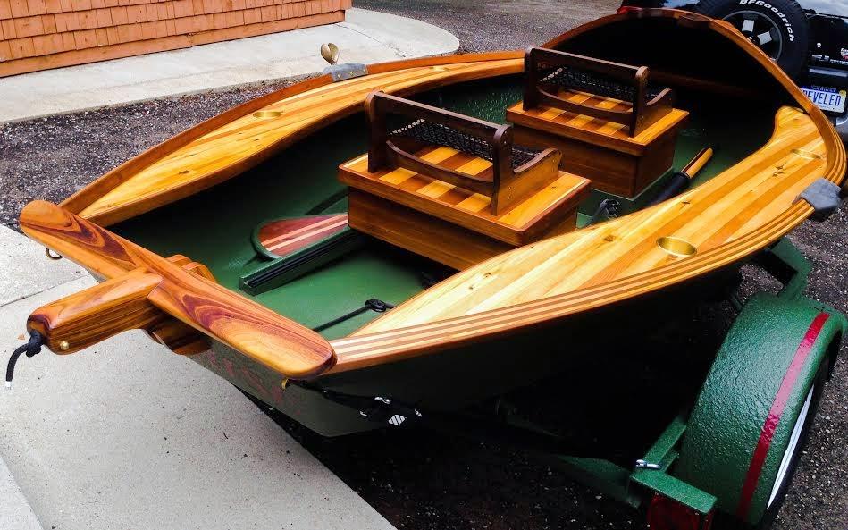 His Drift Boats Are Magic