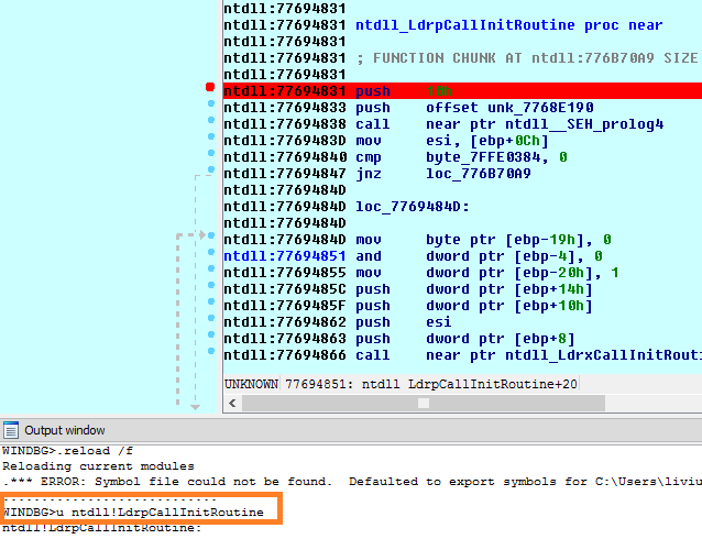 How To Debug A Dll File With Ida Pro Windbg Brainmultiplexer
