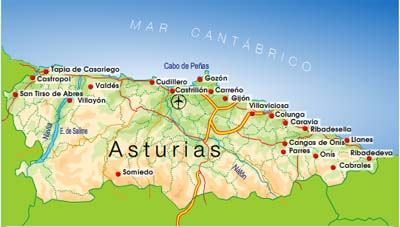 descubriendo ciudades La costa Cantbrica Cudillero Tazones