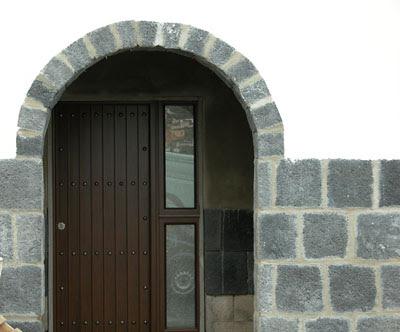 piedra revestimiento fachada