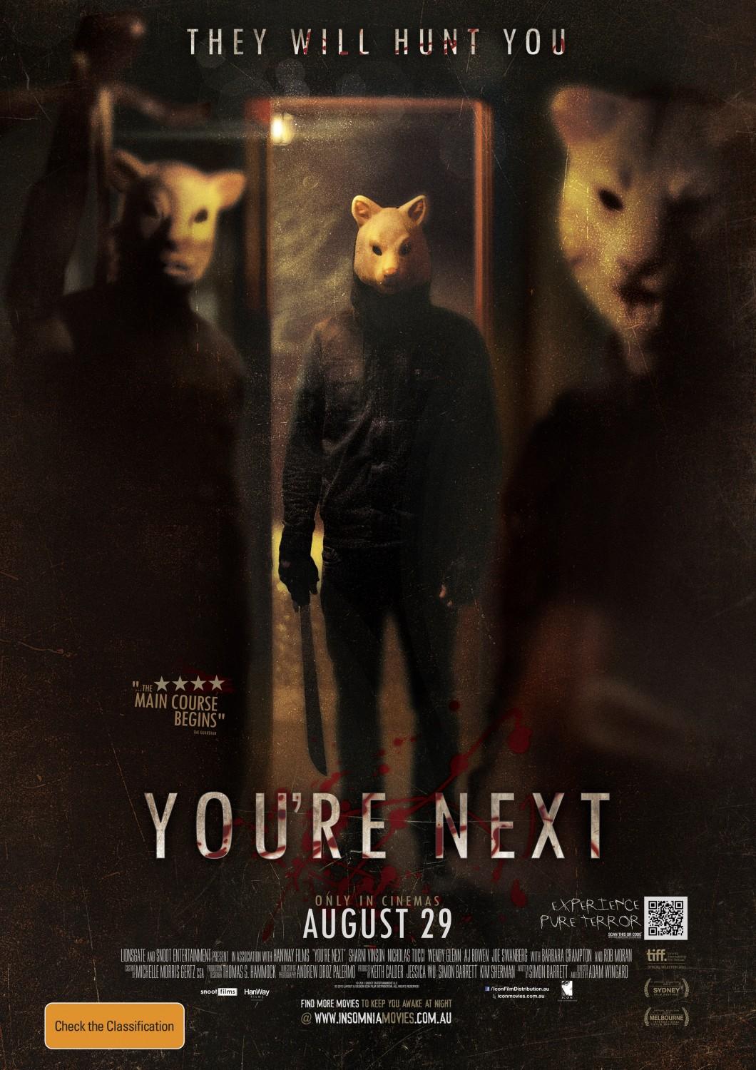 xem phim Đến Lượt Mày - You're Next (2013) full hd vietsub online poster