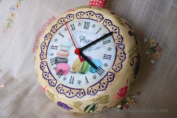 Eski Tavadan Saat Yapımı