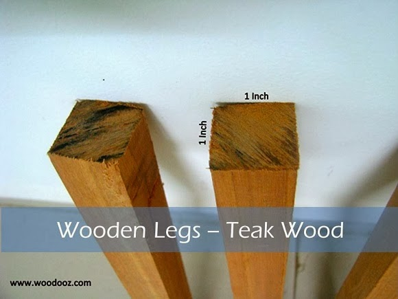 Teak wood for table legs