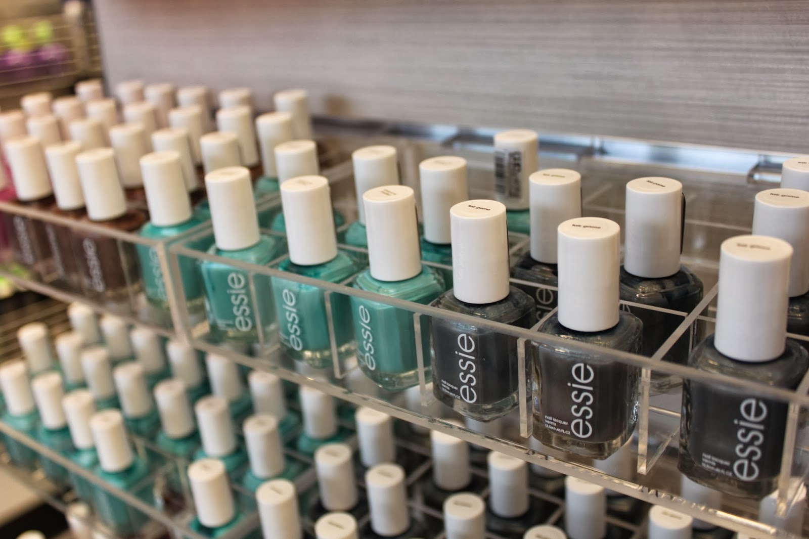 Essie polishes are my favorite, and they had lots of great colors for ...