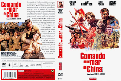 Cover, dvd, caratula: Comando en el Mar de China | 1970 | Too Late the Hero