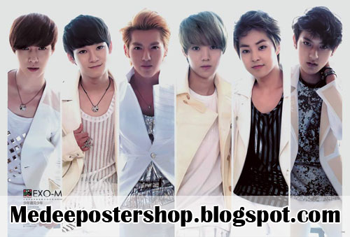EXO M Poster 2013