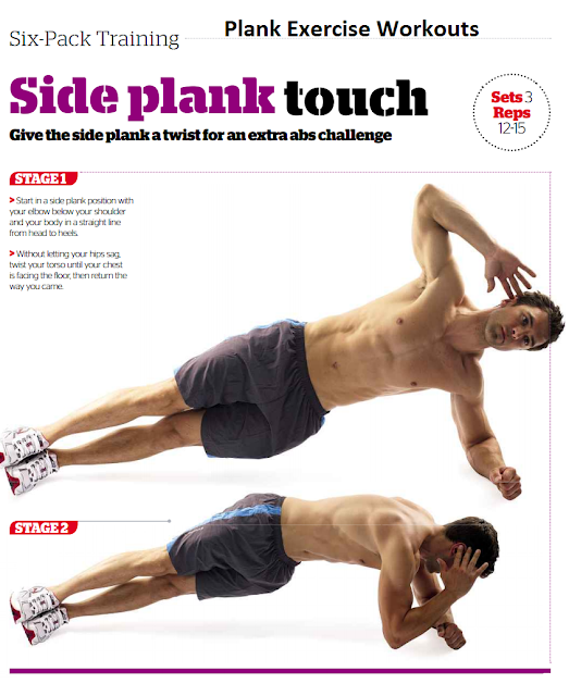 Side Plank Touch