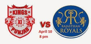 Rajasthan Royals vs Kings XI Punjab records in IPL