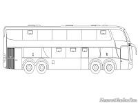 Mewarnai Mobil Bis Trans Jakarta