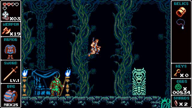 La aventura 2D Odallus se pone 'dura'