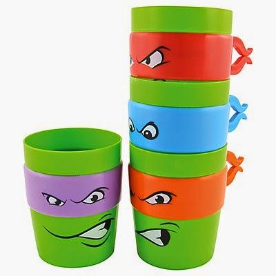 Tazas de las Tortugas Ninja