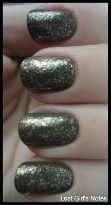 essie luxeffects as gold as it gets over china glaze westside warrior