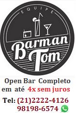 Barman Tom -  Barman para Festas e Eventos no Rio de Janeiro/RJ