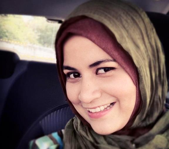 gambar ana raffali manis bertudung hijrah