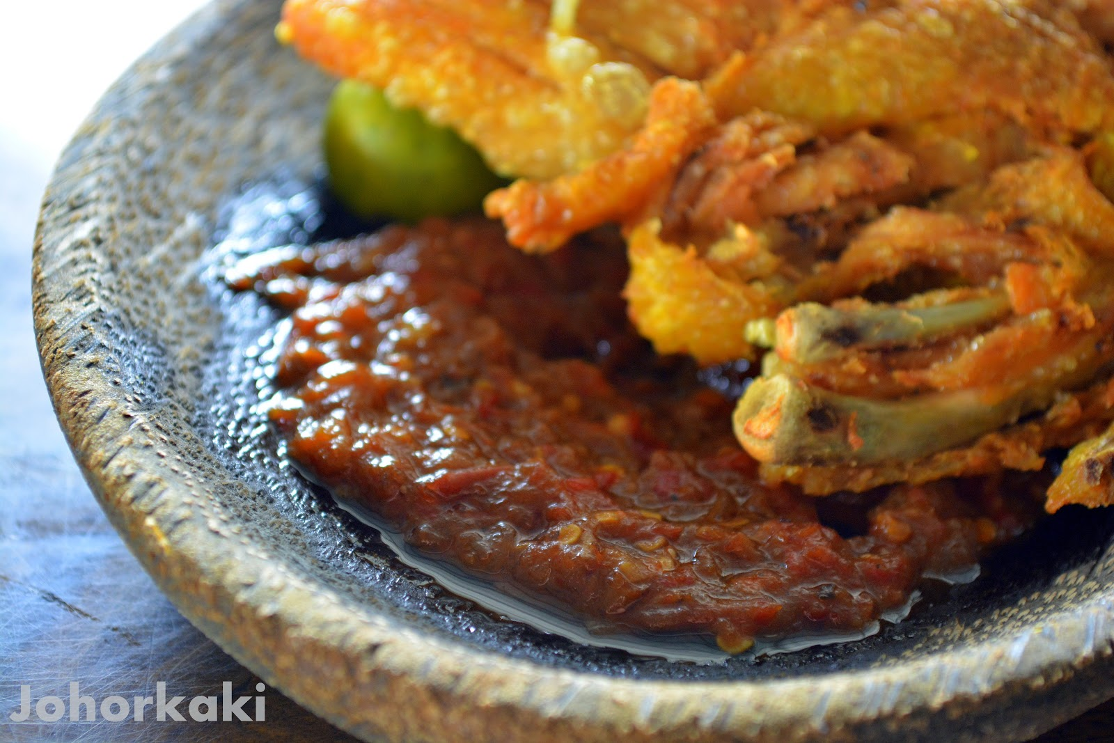 Warung Top 10 Ayam Penyet and Ais Buah in Johor Bahru  : DSC0055jk from johorkaki.blogspot.ca size 1600 x 1067 jpeg 281kB