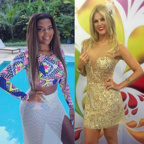 Val Marchiori compara cabelo de Ludmilla com bombril e mãe da cantora rebate