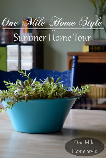One Mile Home Style - Summer Home Tour 2015